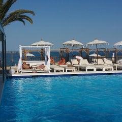 Photo taken at La Jacaranda Lounge Ibiza by Josefran S. on 5/9/2014