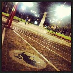 Photo taken at Piazza Solferino by Elisa l. on 7/10/2013