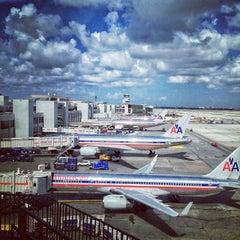 Photo taken at Miami International Airport (MIA) by Jaime D. on 7/29/2013