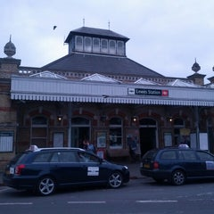 Photo taken at Lewes Railway Station (LWS) by Mark H. on 5/22/2013