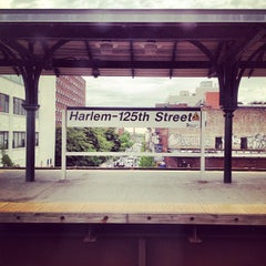 Photo taken at Metro North - Harlem 125th Station by Daniel on 5/18/2013