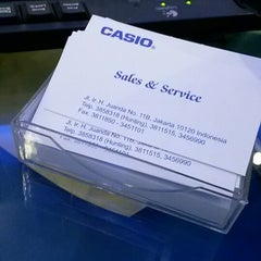 Photo taken at Casio Service & Sales Center by Fajrin R. on 4/7/2014