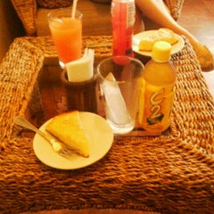 Photo taken at Primera Espresso Café by Aljon D. on 10/1/2012