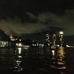 Photo taken at Chao Phraya River by LiBra G. on 6/3/2013
