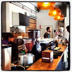 Photo taken at Panther Coffee by Christopher G. on 5/10/2013