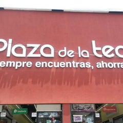 Photo taken at Plaza De La Tecnología by Blanca L. on 5/22/2014
