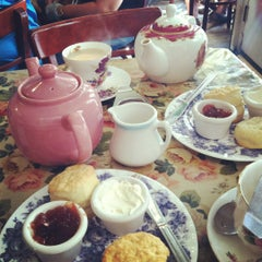 Photo taken at Tea & Sympathy by Sarah on 9/16/2012