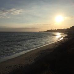 Photo taken at Malibu Beach, CA by Lou D. on 10/19/2015