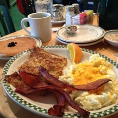Photo taken at Magnolia Pancake Haus by David U. on 2/9/2013