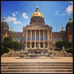 Photo taken at Iowa State Capitol Building by Alex N. on 7/4/2013