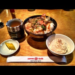 Photo taken at Tokyo Grill & Sushi by Buddha on 10/2/2012