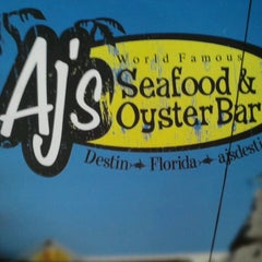 Photo taken at AJ's Seafood & Oyster Bar by TJ H. on 6/21/2013