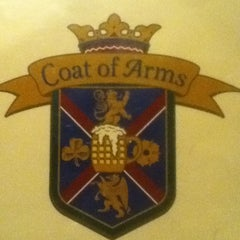 Photo taken at Coat of Arms Pub and Restaurant by Adam on 2/6/2013