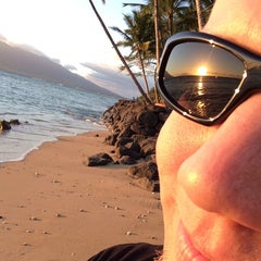 Photo taken at The Beach At The End Of Welakahao by Dale C. on 3/12/2014
