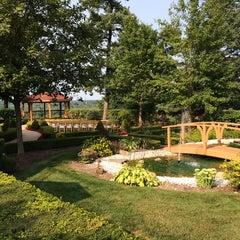 Photo taken at Pine Knob Mansion by John M. on 8/8/2014