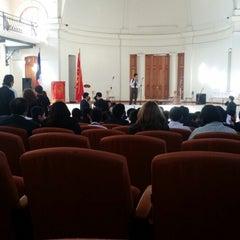 Photo taken at Liceo De Aplicación A-9 by Patricio Alejandro C. on 8/18/2014