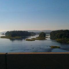 Photo taken at John Harris Bridge by Della S. on 9/17/2012