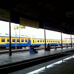 Photo taken at Stasiun Solo Jebres by Glady P. on 2/14/2013