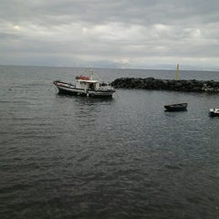 Photo taken at Scoglione a Marechiaro by Palma V. on 10/12/2012