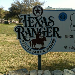 Photo taken at Texas Ranger Hall of Fame and Museum by Ashley on 3/25/2013