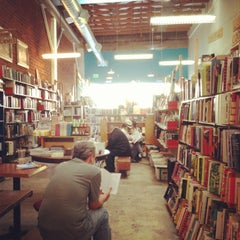 Photo taken at Stories Books & Cafe by Sheena Y. on 2/18/2013