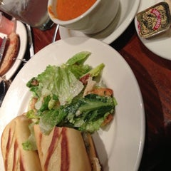 Photo taken at la Madeleine Country French Café by Brittany E. on 11/20/2012