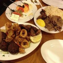 Photo taken at Avli Little Greek Tavern by DJ R. on 3/20/2013