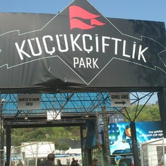 Photo taken at KüçükÇiftlik Park by Hasan U. on 5/4/2013