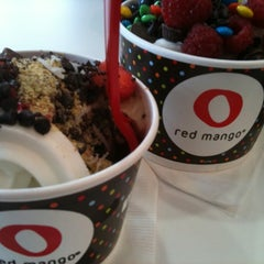 Photo taken at Red Mango by Suzanne on 10/7/2012