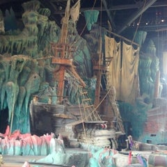 Photo taken at The Eighth Voyage Of Sindbad Stunt Show by Michael K. on 4/5/2013