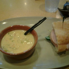 Photo taken at Panera Bread by Monica B. on 3/6/2013