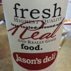 Photo taken at Jason's Deli by Alex R. on 6/4/2013