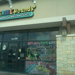 Photo taken at Game Hounds Video Games & Gifts by Jen S. on 11/18/2012