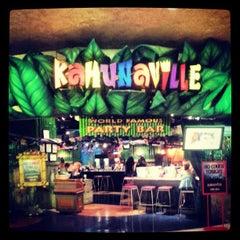 Photo taken at Kahunaville by Charlie V. on 4/1/2013