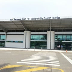 Photo taken at Aeropuerto Comandante FAP Guillermo del Castillo Paredes (TPP) by Henrry Z. on 10/27/2012