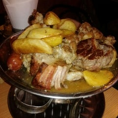 Photo taken at Parrilladas San Luis by Luis P. on 8/11/2013