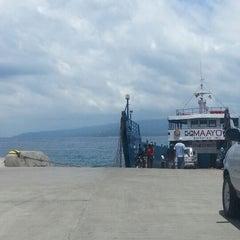 Photo taken at Sibulan Pier (Ferry Terminal) by Karen Claire H. on 3/21/2013