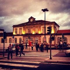 Photo taken at Estação Ferroviária de Porto-Campanhã by Alexandre N. on 9/23/2012