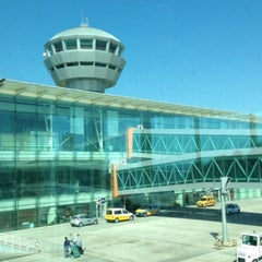 Photo taken at İzmir Adnan Menderes Airport (ADB) by Cenk Ö. on 10/31/2013