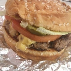 Photo taken at Five Guys by Danelle S. on 7/19/2014