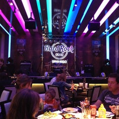 Photo taken at Hard Rock Cafe Santiago by Jorge Coke Morales on 2/23/2013