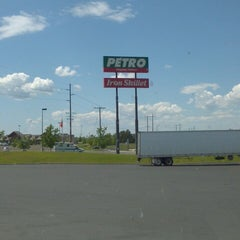Photo taken at Petro Stopping Center by Gregory J. on 5/31/2014
