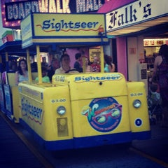 Photo taken at Morey's Piers and Beachfront Waterparks by Kristy on 7/22/2013