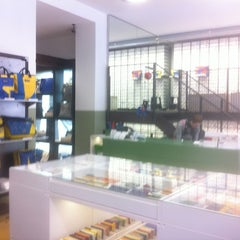 Photo taken at Freitag-Shop by Marc D. on 10/1/2012