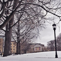 Photo taken at Bascom Hill by Antonio S. on 3/23/2015