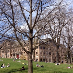 Photo taken at Bascom Hill by Antonio S. on 4/15/2015
