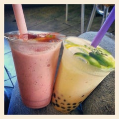 Photo taken at Boba Tea House by Courteney H. on 9/29/2012