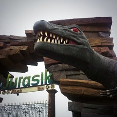 Photo taken at Jurassic Park by Pratül on 6/13/2013