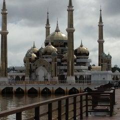 Photo taken at Masjid Kristal by Jebat T. on 11/12/2012