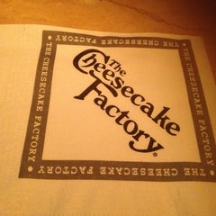 Photo taken at The Cheesecake Factory by William B. on 1/6/2013